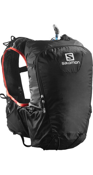 Salomon Skin Pro 15 Set Backpack Black/Bright Red